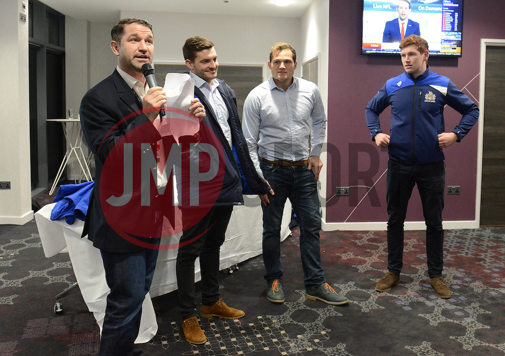 Q and A in the Heineken Lounge - Mandatory byline: Dougie Allward/JMP - 22/01/2016 - RUGBY - Ashton Gate -Bristol,England - Bristol Rugby v Ulster Rugby - B&I Cup