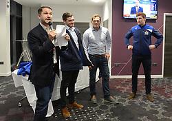 Q and A in the Heineken Lounge - Mandatory byline: Dougie Allward/JMP - 22/01/2016 - RUGBY - Ashton Gate -Bristol,England - Bristol Rugby v Ulster Rugby - B&I Cup