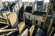 Saint Merri church. Paris view from bell towers. PR272A