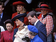 Princess Eugenie's Christening 1990, Sandringham