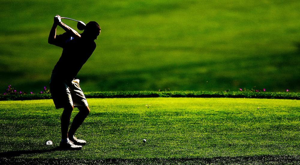 Men's and Women's Golf. Stevenson University vs Hood College.