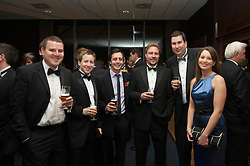 CARDIFF, WALES - Wednesday, November 11, 2009: Reporters and sponsors mix during the Football Association of Wales Player of the Year Awards hosted by Brains SA at the Cardiff City Stadium. (Pic by David Rawcliffe/Propaganda)