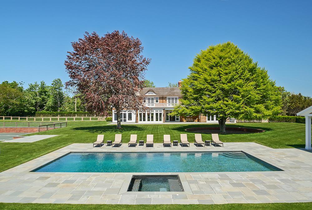 Swimming Pool, Cross Hwy, Long Island, East Hampton, New York