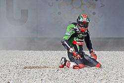 16.04.2016, TT Circuit, Assen, NED, MOTUL FIM Superbike World Championship, Assen, im Bild #66 Tom Sykes ( GBR ) Kawasaki // during the MOTUL FIM Superbike World Championship at the TT Circuit in Assen, Netherlands on 2016/04/16. EXPA Pictures © 2016, PhotoCredit: EXPA/ Eibner-Pressefoto/ FSA<br /> <br /> *****ATTENTION - OUT of GER*****