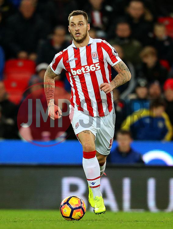 Marko Arnautovic of Stoke City - Mandatory by-line: Matt McNulty/JMP - 01/02/2017 - FOOTBALL - Bet365 Stadium - Stoke-on-Trent, England - Stoke City v Everton - Premier League