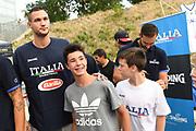 Danilo Gallinari<br /> Nazionale Italiana Maschile Senior - Trentino Basket Cup 2019<br /> Italia Italy Romania Romania<br /> FIP 2019<br /> Trento, 30/07/2019<br /> Foto M.Ceretti / Ciamillo-Castoria
