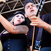 HorrorPops performing at Warped Tour 2008 in Carson, California USA on August 17, 2008