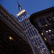 Empire State Building by night