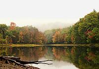 Rainy fall day September 28, 2010.