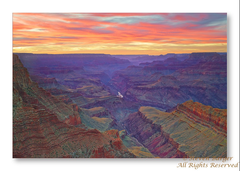 Sunset from the South Rim of the Grand Canyon