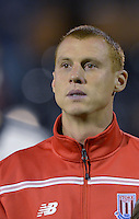 Stoke City's Steve Sidwell during the Capital One Cup, third round match at Craven Cottage, London.