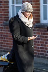 Sally Schultz, 43, a member of United Airlines' cabin crew at Uxbridge Magistrates court where she was fined £500 plus £85 in prosecutions costs plus a £50 victim surcharge after she was arrested on October 7th 2018 after Heathrow Terminal 2 airport staff smelled alcohol on her breath and she subsequently was found to be four times over the permitted limit for air crew. Uxbridge, January 08 2019.