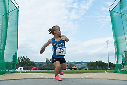 04/08/2017; Struklec, Petra, F40, CRO at 2017 World Para Athletics Junior Championships, Nottwil, Switzerland