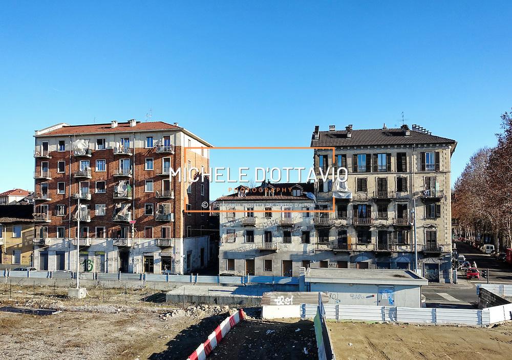 Torino 12/01/2016  apertura alla viabilità della spina centrale nel tratto di corso Principe Oddone.