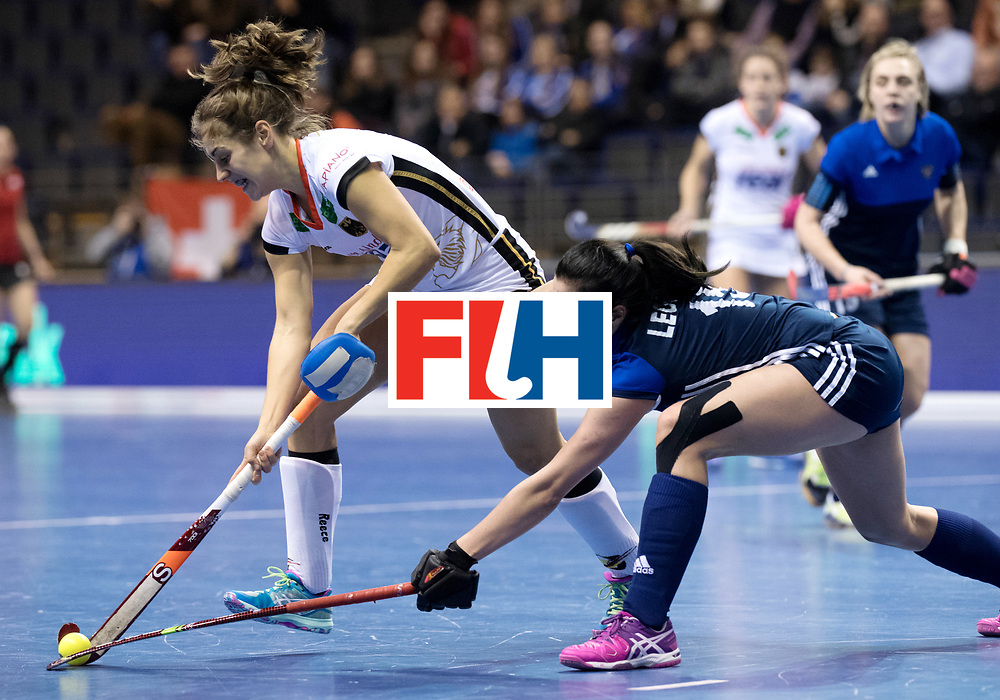 BERLIN - Indoor Hockey World Cup<br /> Women: Germany - Russia<br /> foto: Marie M&auml;vers.<br /> WORLDSPORTPICS COPYRIGHT FRANK UIJLENBROEK