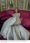 Poureza Vasconcelles e Souza. Crillon hotel Debutante Ball. 27 November 1999.<br />© Copyright Photograph by Dafydd Jones 66 Stockwell Park Rd. London SW9 0DA Tel 0171 733 0108