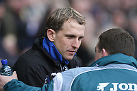 Photo: Pete Lorence.<br /> Derby County v Bristol Rovers. The FA Cup. 27/01/2007.<br /> Billy Davies welcomes Bristol manager Paul Trollope.