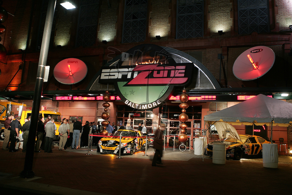 The annual DeWalt STAFDA event, held at the ESPN Zone in Baltimore, Maryland.