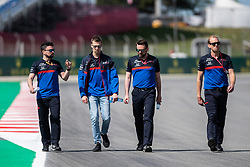 May 9, 2019 - Barcelona, BARCELONA, SPAIN - BARCELONA, SPAIN, 9 May 2019, Circuit de Barcelona Catalunya; Daniil Kvyat driver of Toro Rosso at Circuit de Barcelona Catalunya (Credit Image: © AFP7 via ZUMA Wire)