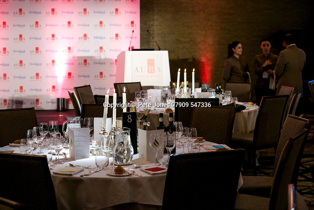 the Auras 2018;<br /> Jumeirah Carlton Tower Hotel;<br /> Cadogan Place, London;<br /> 8th March 2018.<br /> <br /> © Pete Jones<br /> pete@pjproductions.co.uk