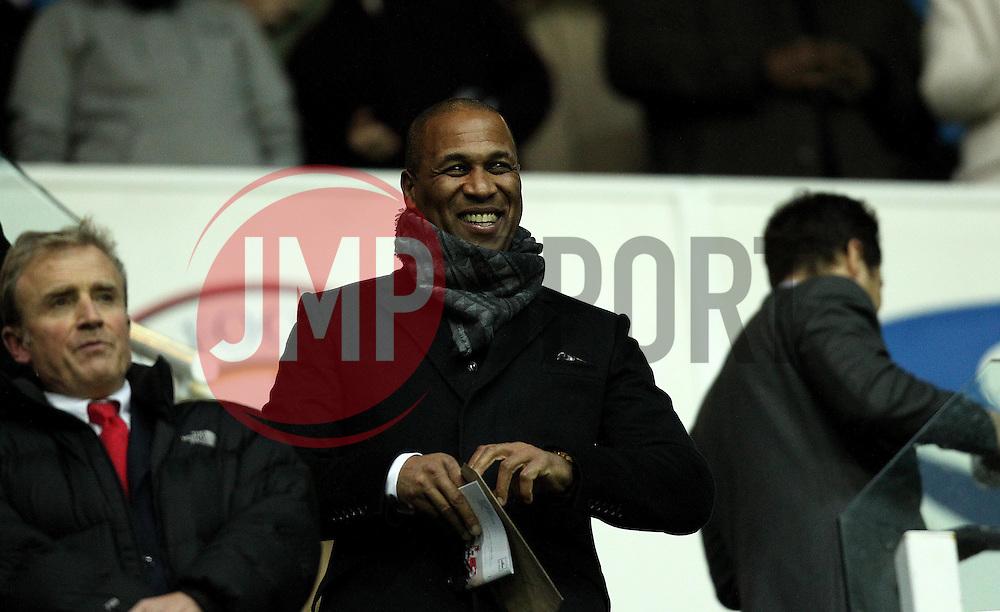 QPR board member Les Ferdinand - Mandatory byline: Robbie Stephenson/JMP - 03/12/2015 - Football - Madejski Stadium - Reading, England - Reading v Queens Park Rangers - Sky Bet Championship