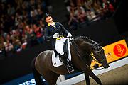Isabell Werth - Weihegold<br /> FEI Longines FEI World Cup Paris 2018<br /> © DigiShots