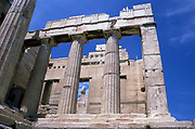 Entrance to the Acropolis, Athens.
