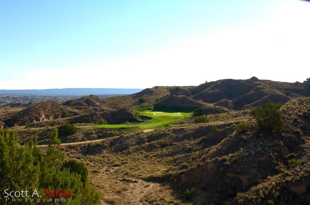 Espanola, N.M.:  July 10, 2006 -  No. 4 on Black Mesa Golf Club in Espanola, N.M...                ©2006 Scott A. Miller