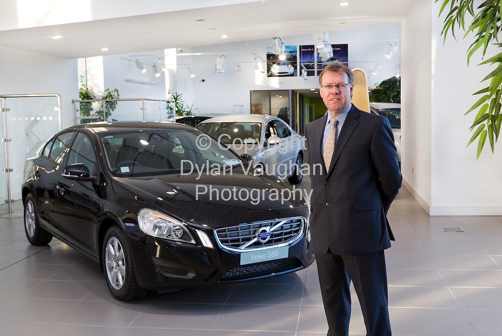 10/11/11.David Baddeley,  Managing Director, Volvo Car Ireland Limited..Picture Dylan Vaughan