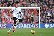 Tottenham Hotspur midfielder Erik Lamela during the Barclays Premier League match between Bournemouth and Tottenham Hotspur at the Goldsands Stadium, Bournemouth, England on 25 October 2015. Photo by Mark Davies.