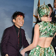 James Wan and Amber Heard Arrivers at Aquaman - World Premiere at Cineworld Leicester Square on 26 November 2018, London, UK.