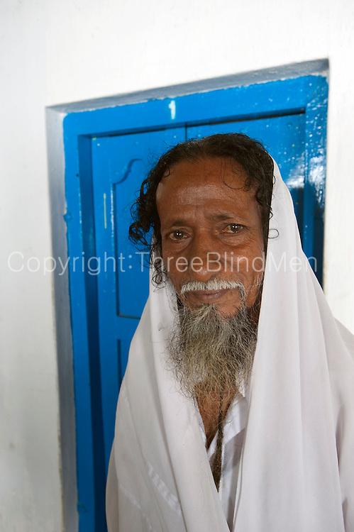 Pilgrim at the Dargah shrine in Nagore.