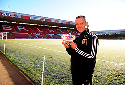 Bristol City Manager, Keith Milen wins the Npower Manager of the Month award for Novemeber