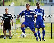 07-08-2008 Voetbal:Willem II:Bad-Schandau:Duitsland<br /> Willem II is in Oost Duitsland in Bad-Schandau voor een trainingskamp.<br /> Mehmet Akgun tijdens de training<br /> <br /> foto: Geert van Erven