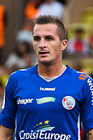 Dimitri Lienard of Strasbourg during the Ligue 1 match between AS Monaco and Strasbourg at Stade Louis II on September 16, 2017 in Monaco. (Photo by Pascal Della Zuana/Icon Sport )