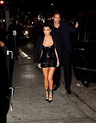 Kourtney Kardashian arrives at her PLT Launch Party at Poppy Club. 25 Oct 2017 Pictured: Kourtney Kardashian. Photo credit: BLAK-OPS / MEGA TheMegaAgency.com +1 888 505 6342