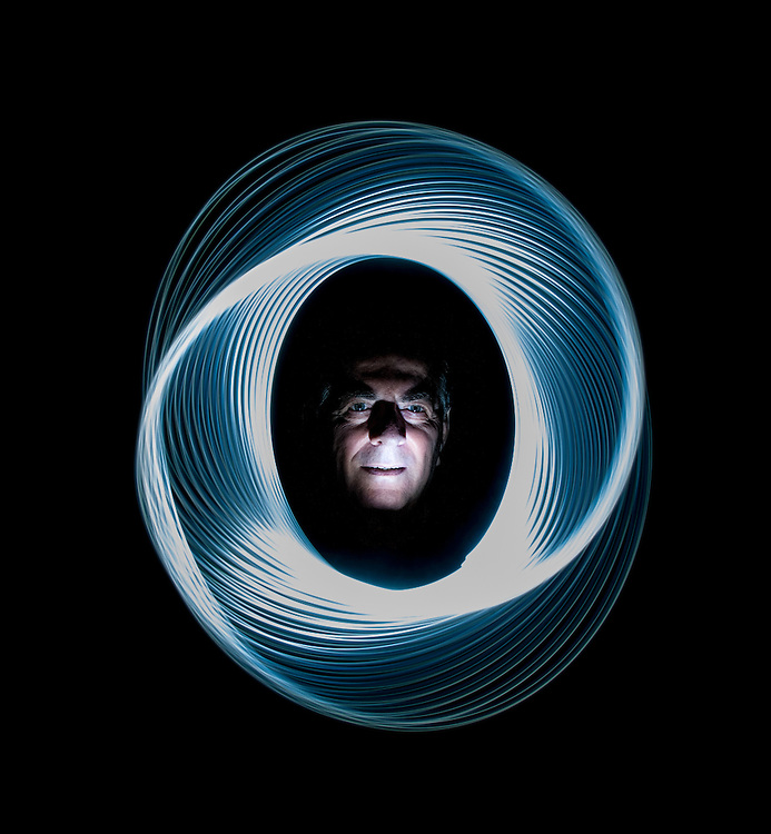 Self portrait Painting with light