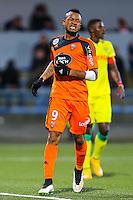 Deception Jordan AYEW  - 20.12.2014 - Lorient / Nantes - 19eme journee de Ligue 1 -<br /> Photo : Vincent Michel / Icon Sport