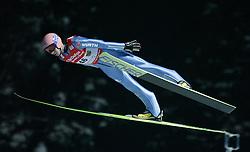 01.02.2011, Vogtland Arena, Klingenthal, GER, FIS Ski Jumping Worldcup, Team Tour, Klingenthal, im Bild Michael Neumayer, GER, während der Qualifikation // during the FIS Ski Jumping Worldcup, Team Tour in Klingenthal, Germany 1/2/2011. EXPA Pictures © 2011, PhotoCredit: EXPA/ Jensen Images/ Ingo Jensen +++++ ATTENTION +++++ GERMANY OUT!