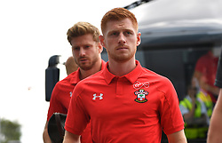 """Southampton's Harrison Reed during a pre season friendly match at Pride Park, Derby. PRESS ASSOCIATION Photo. Picture date: Saturday July 21, 2018. Photo credit should read: Anthony Devlin/PA Wire. EDITORIAL USE ONLY No use with unauthorised audio, video, data, fixture lists, club/league logos or """"live"""" services. Online in-match use limited to 75 images, no video emulation. No use in betting, games or single club/league/player publications."""