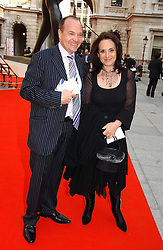 Actress LESLEY JOSEPH and  at the Royal Academy of Art's SUmmer Party following the official opening of the Summer Exhibition held at the Royal Academy of Art, Burlington House, Piccadilly, London W1 on 7th June 2006.<br />