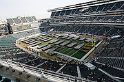 6 Dec 2008: Midshipman line up on the field before the Army / Navy game December 6th, 2008. At Lincoln Financial Field in Philadelphia, Pennsylvania.