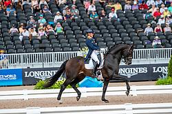 Scholtens Emmelie, NED, Apache<br /> World Equestrian Games - Tryon 2018<br /> © Hippo Foto - Dirk Caremans<br /> 14/09/18