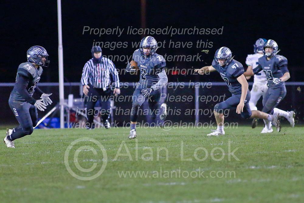 26 October 2018: Peoria Notre Dame Irishs at Normal Community West Wildcats at Normal Community West High School, Normal Illinois<br /> <br /> #bestlookmagazine #alphoto513 #IHSA #IHSAFootball