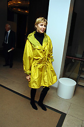 VICTORIA, LADY DE ROTHSCHILD at the launch of Ecuador: Block 16 a partnership between IWC watches and David De Rothschild held at The Hospital, Endell Street, Covent Garen, London on 8th October 2007.<br /><br />NON EXCLUSIVE - WORLD RIGHTS