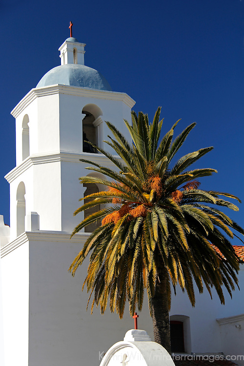 USA, California, Oceanside. Old Mission San Luis Rey de Francia.