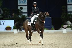 Erlbeck Sarah, (GER), Amichelli<br /> Grand Prix Dressage München 2015<br /> © Hippo Foto - Stefan Lafrentz