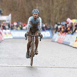 29-01-2017: Wielrennen: Wereldkampioenschap veldrijden: Luxemburg<br />BIELES (LUX) cyclocross<br />Kevin Pauwels pakt brons