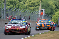#107 Sam BAILEY Mazda MX-5 Mk3  during BRSCC Mazda MX-5 Super Series  as part of the BRSCC NW Mazda Race Day  at Oulton Park, Little Budworth, Cheshire, United Kingdom. June 16 2018. World Copyright Peter Taylor/PSP. Copy of publication required for printed pictures. http://archive.petertaylor-photographic.co.uk