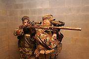 US ARMY SNIPER SCHOOL CADRE, FORT BENNING, GA©Hans Halberstadt dba Military Stock Photography